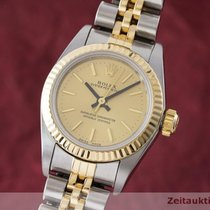 Rolex Lady Oyster Perpetual Damenuhr Stahl Gold Automatik Ref...