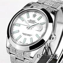 Rolex 41mm New Style Datejust Ii 2 With Custom Diamond Bezel...