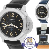 Panerai PAM 631 Luminor Marina Base Logo Black 44mm Watch...