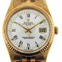 ロレックス (Rolex) Vintage Rolex Date Quickset 14k Yellow Gold...