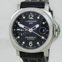 Panerai Luminor GMT Steel Black Dial