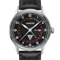 Junkers Herrenuhr G38 - GMT Quarz , 6946-2