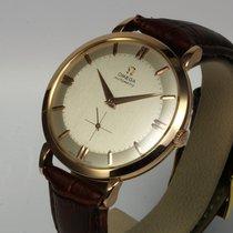 Omega Top Vintage Automatik Uhr 18K Roségold, 38 mm, Zertifikat