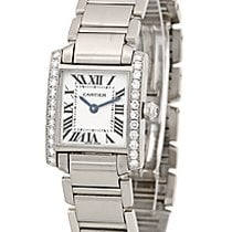 "Cartier Diamond ""Tank Francaise""."