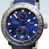 Ulysse Nardin Mens Blue Max Stainless Steel Mens Watch...