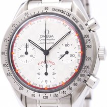 Omega Polished Omega Speedmaster Racing Michael Schumacher...