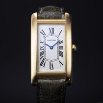 Cartier Ladies 18ct gold Tank Americaine  - 1720 - 2008