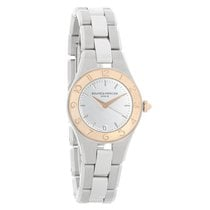 Baume & Mercier Linea Ladies 18K Rose Gold Bezel Quartz...