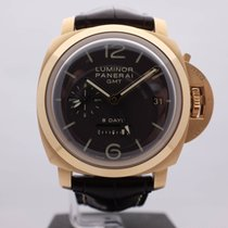 Panerai Luminor Marina GMT 8 Days Rose Gold Ref.Pam 289
