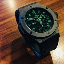 "Hublot Big Bang ""All Black-Green"" Chrono 44.5mm..."