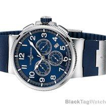 Ulysse Nardin Marine Chronograph Manufacture 43 Blue  Watch