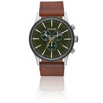Nixon Sentry Chrono Leather Surplus / Brown A405-2334