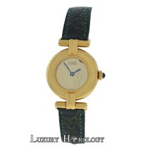 Cartier Ladies Must de Colisee 590002 Vermeil Gold Plated Silver