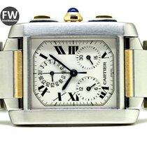 Cartier Tank Francaise Chronoflex Steel & Gold