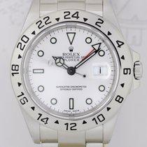 Rolex Explorer II weiß / white dial Klassiker GMT Y-Serie...