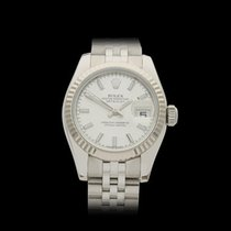 Rolex Datejust Stainless steel & 18k white gold Ladies 179174