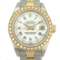 Rolex Oyster Perpetual Lady Date Diamonds LC100