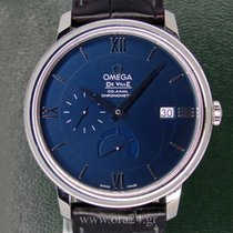 Omega CoAxial  40mm  Power Reserve Deep Blue Dial Box&Papers