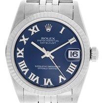 Rolex Midsize Stainless Steel Datejust 31mm Watch 78274