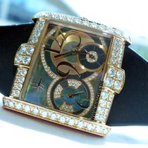 Harry Winston Avenue Square Diamonds Rose Gold - AVSQTZ36