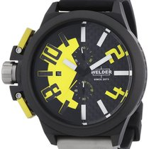 Welder by U-boat K35 Chronograph Black PVD Steel Mens Watch...