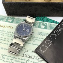 Rolex DateJust Oyster quartz 17000 Blue Mark1 Dial With box...