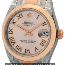 Rolex Datejust Mid-Size Stainless Steel / 18K Rose Gold