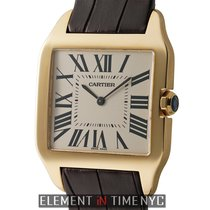 Cartier Santos Collection Santos Dumont 18k Yellow Gold...