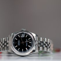 Rolex OYSTER PERPETUAL DATEJUST 31mm black index Unworn