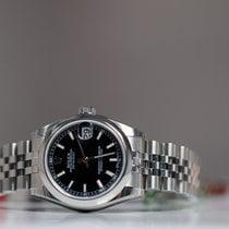 Rolex OYSTER PERPETUAL DATEJUST 31mm black index Unworn