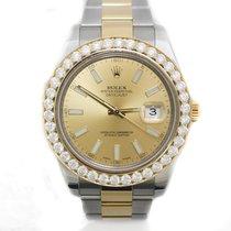 Rolex DATEJUST II SS/18KT YELLOW GOLD