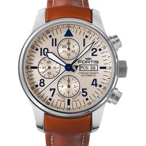 Fortis Aviatis F-43 Recon Chrono Big Day/date Watch 20atm Ltd...