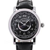 Montblanc Star World-Time GMT 42 Black Dial