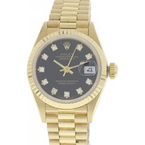 Rolex Oyster Perpetual Datejust 18K YG 69178