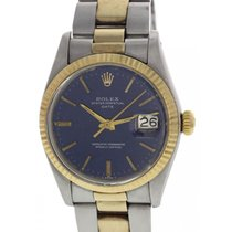 Rolex Oyster Perpetual Date 18K YG & SS 1500