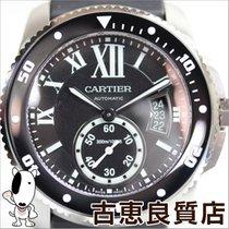 カルティエ (Cartier) 〔MT699〕【中古】 カリブル ドゥ カルティエ ダイバー W7100056 メンズ...