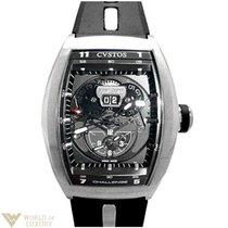 Cvstos Challenge Twin-Time Stainless Steel Men's Watch