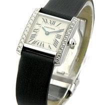 Cartier WE100231 Tank Francaise - Small Size - White Gold with...