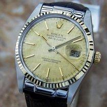 Rolex Swiss Made 16013 Quickset 18k Gold Stainless Steel 1983...