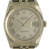 Rolex Datejust Stahl Weißgold Automatik Armband Jubilé 36mm...