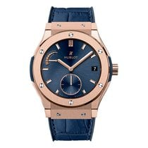 Hublot Classic Fusion Power Reserve King Gold Blue 45mm Ref...
