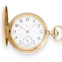 Longines Pocket watch: especially heavy and high-quality...
