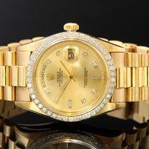 Ρολεξ (Rolex) Daydate 750/000gg Diamonds Ref18048