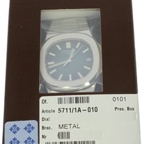 Patek Philippe Nautilus Stainless Steel Blue Dial 5711/1A-010...