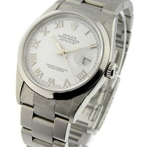 Rolex Used 16200 Mens Steel DATEJUST with Oyster Bracelet -...