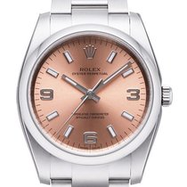 Rolex Air King Oyster Perpetual Ref. 114200 Zifferblatt Rose