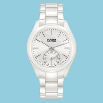 Rado Hyperchrome Ceramic Touch Dual Timer - Weiß