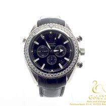 Omega Seamaster Planet Ocean Chrono Co-Axial Chronometer Diamonds