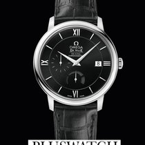 Omega De Ville Prestige Co-Axial Power Reserve Black Dial...
