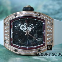 Richard Mille rm 023 rose gold set with diamonds